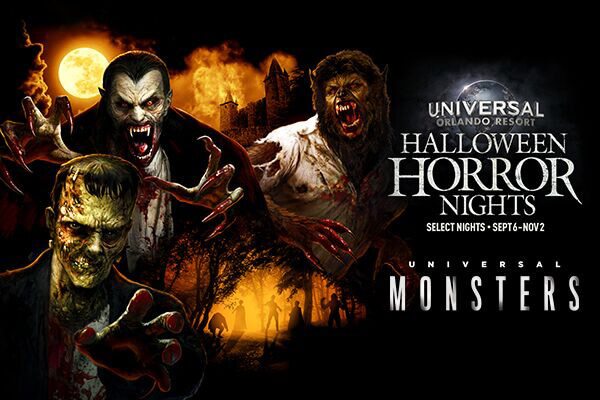 Halloween Horror Nights Universal Monsters