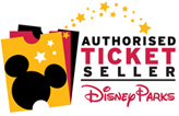 We're an authorised ticket seller of Disney products