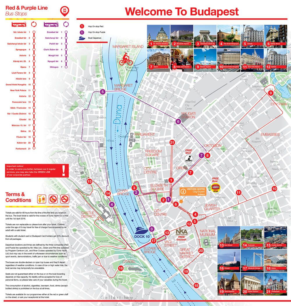 toronto hop on hop off map pdf